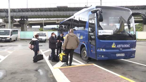 карантин автовокзал автобуси