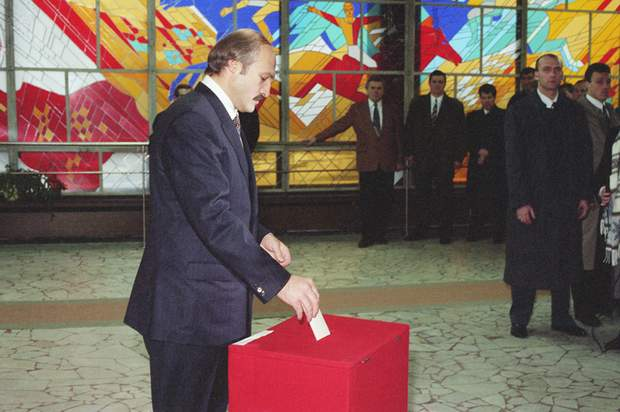 лукашенко 1996