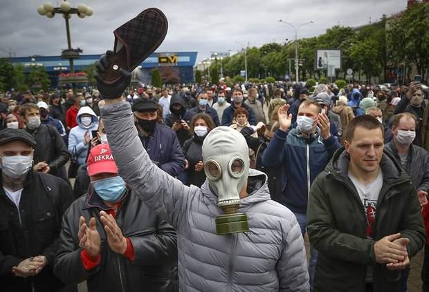 митинги в Булорусси