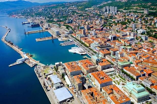 Місто Рієка в Хорватії