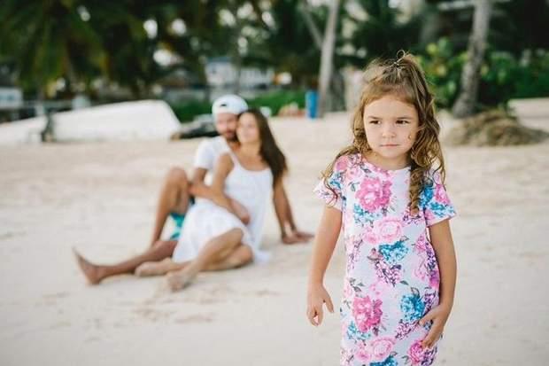 Ілона Гвоздьова на відпочинку в Домінікані