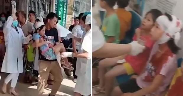 Напад на школу в Китаї
