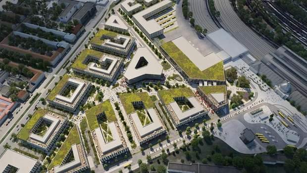 Архітектори обіцяють багато зелених насаджень / фото Твоє місто