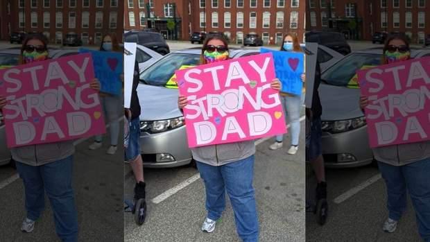 Сім'я завжди підтримувала тата