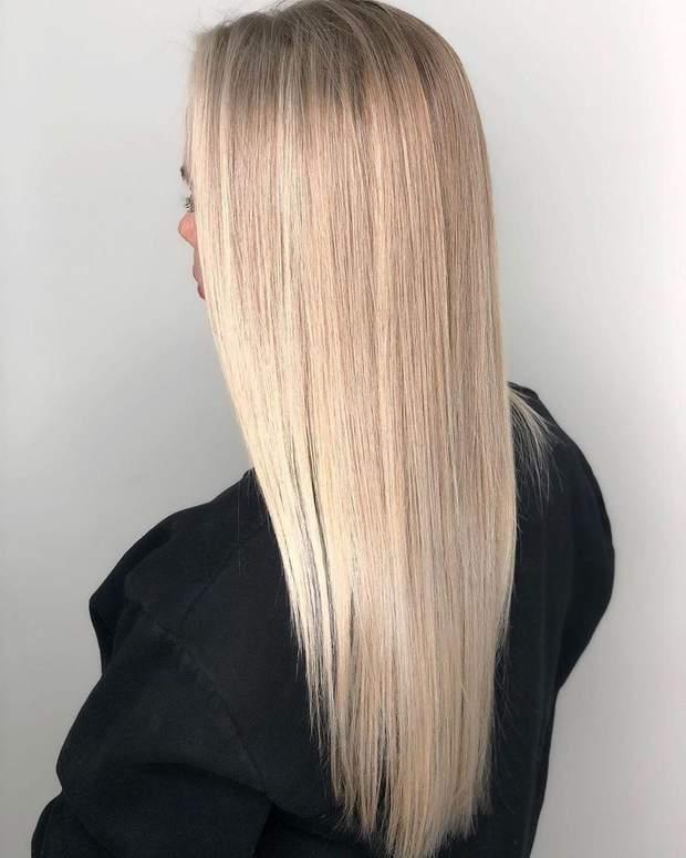 Ламіноване волосся