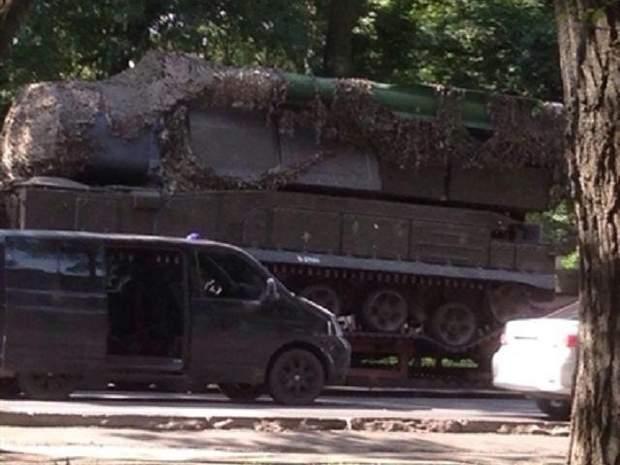 На суде показали фото российского 'Бука', который сбил самолет в небе над Донбассом
