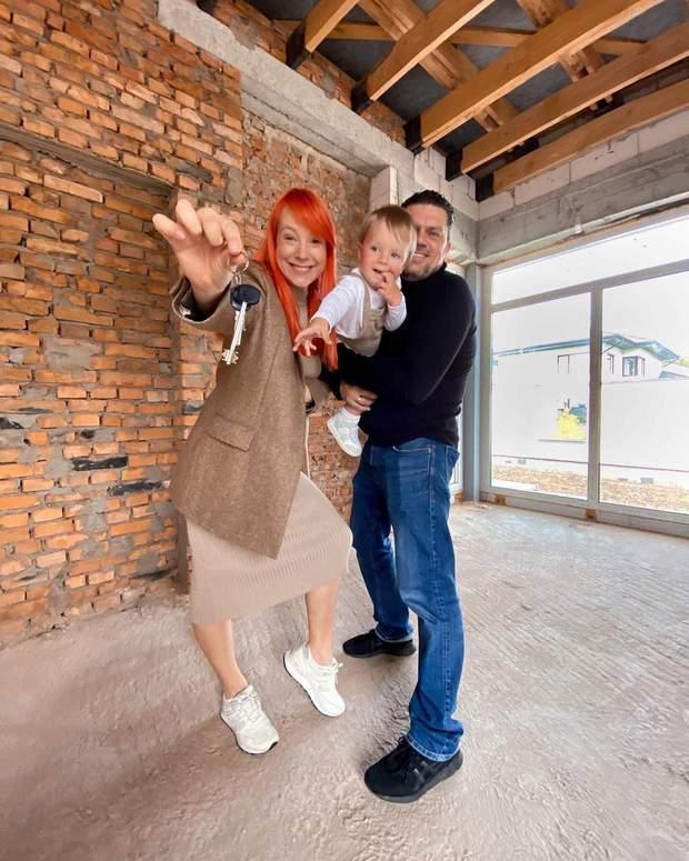 Світлана Тарабаров з чоловіком придбали будинок