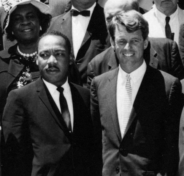 Мартина Лютера Кинга и Роберта Кеннеди