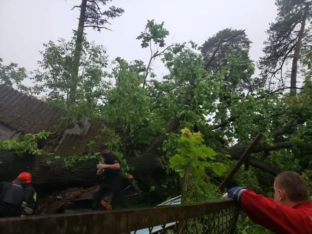 Ливень на Закарпатье затопил село, на Львовщине из-за непогоды погибла женщина: фото,  видео