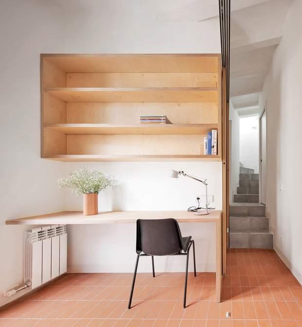 Кімнати в будинку поділені на зони / фото Deezen