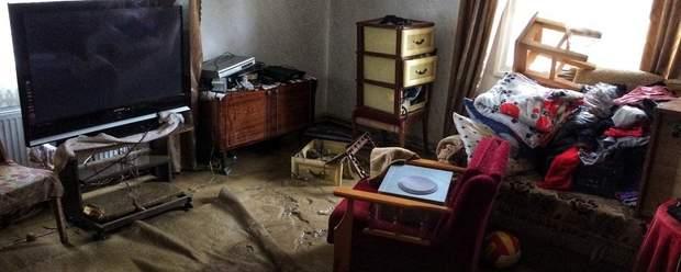 У Розтоках затоплені приблизно 50 будинків