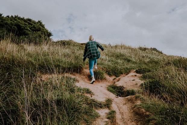Ходьба по схилу