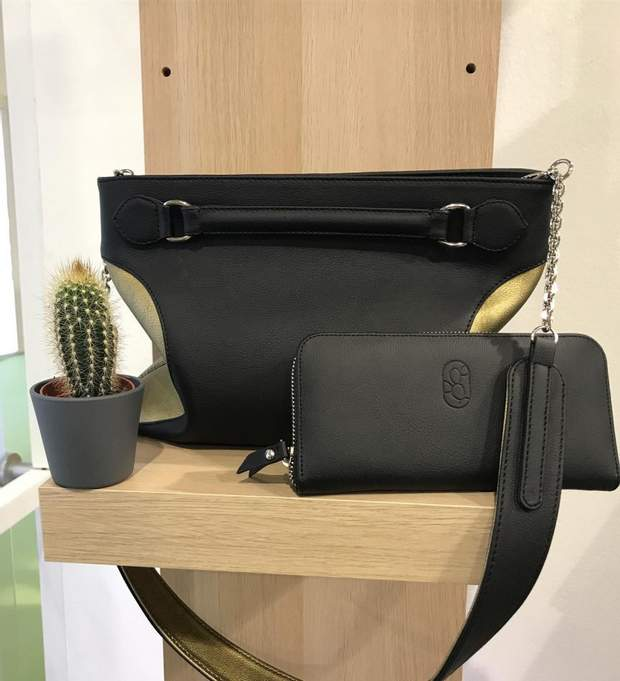 Сумка та гаманець з кактуса