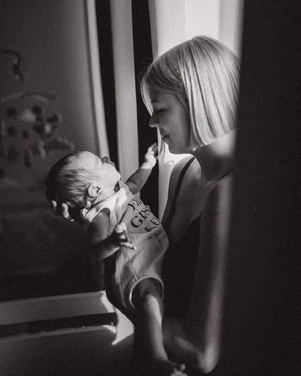 Ната Жижченко з сином