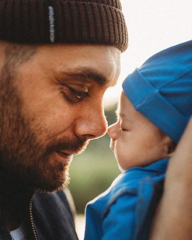 Євген Філатов з сином