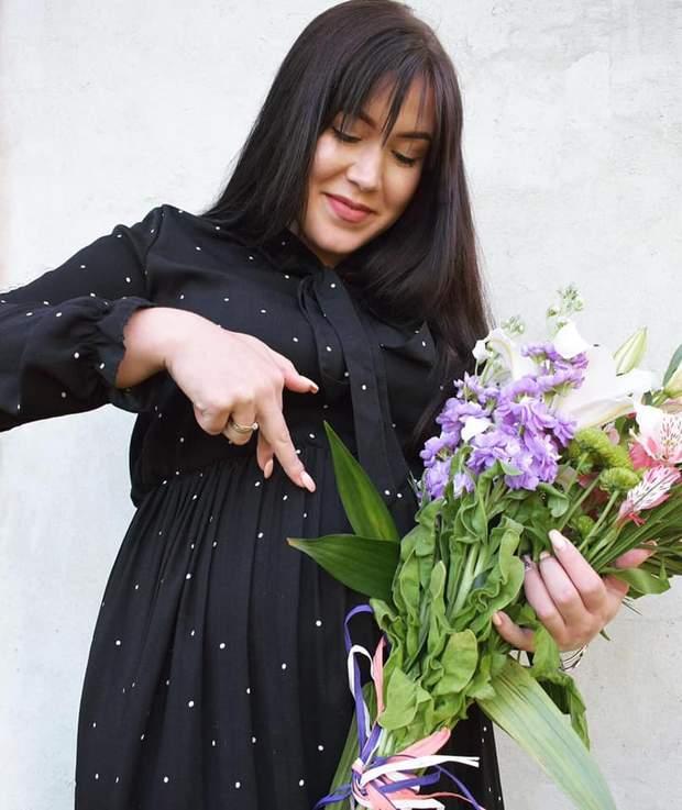 Дружина Володимира Жогло вагітна
