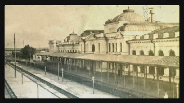 Вокзал в Лозовій
