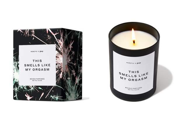 Гвінет Пелтроу свічка із запахом оргазму