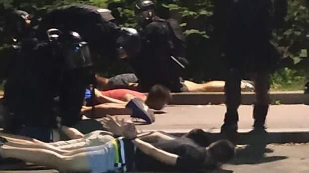 сербія протести