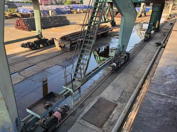 Витік олії в порту Миколаєва