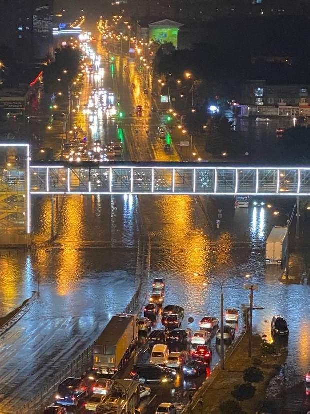 Злива у Харкові