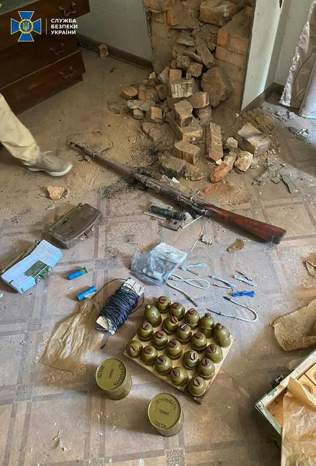 ареснал зброї на Донбасі