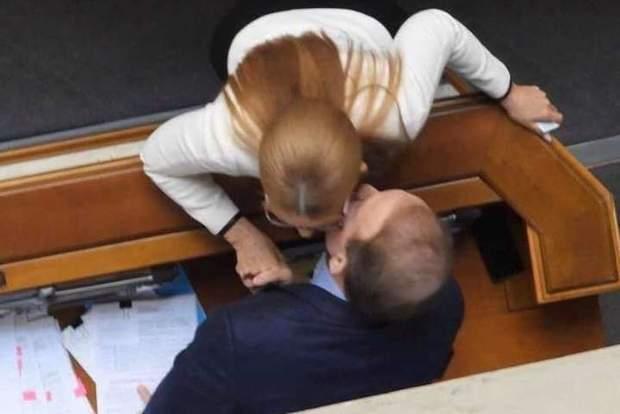 Юлія Тимошенко та Віктор Медведчук