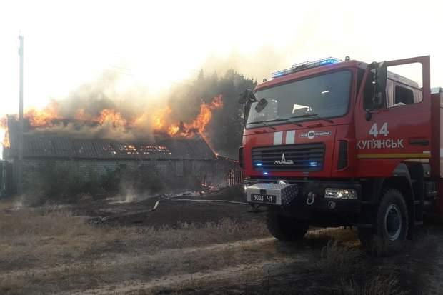 пожежа, село Горобівка
