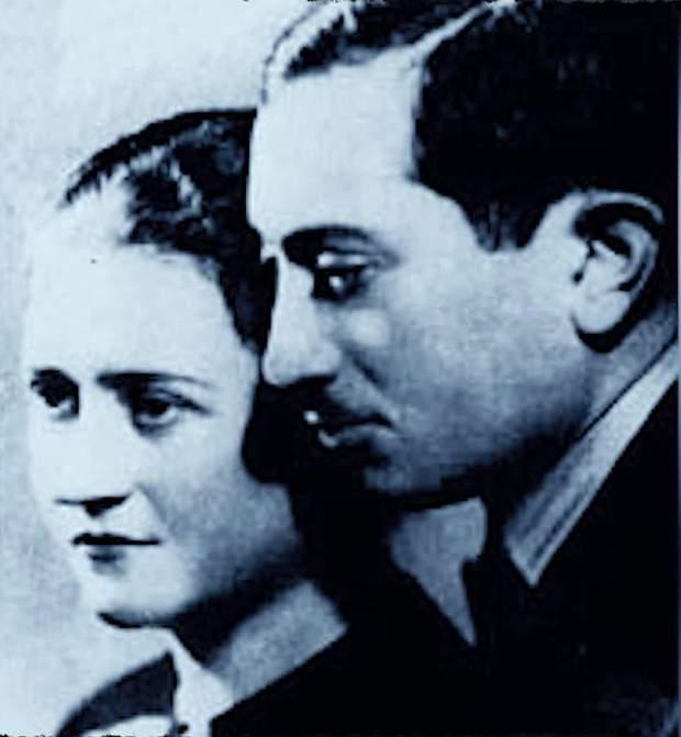 Візенталь з дружиною