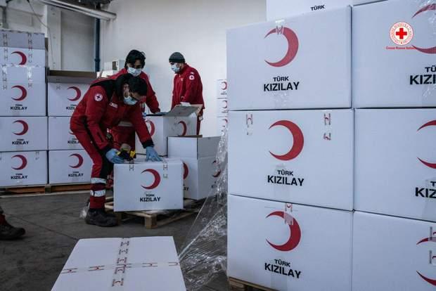 туреччина коронавірус гуманітарна допомога