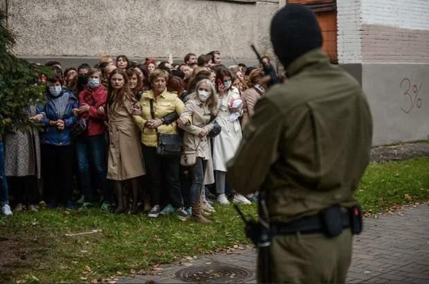 протесты в Белоруси