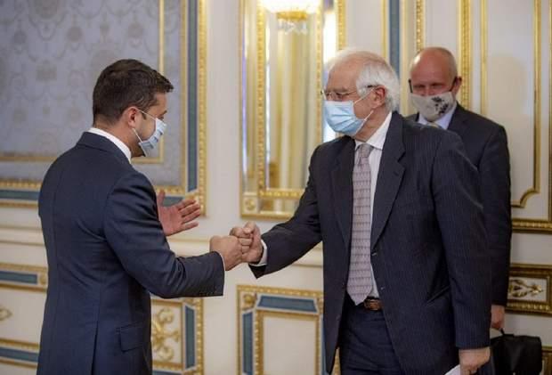 Зеленський зустрівся з Високим представником ЄС із закордонних справ та безпекової політики Джозепом Боррелем