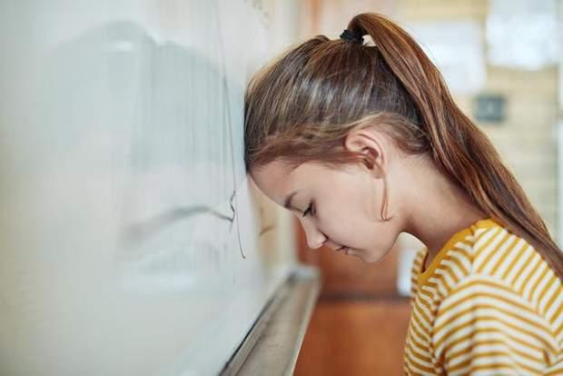 Пригніченість дитини в школі