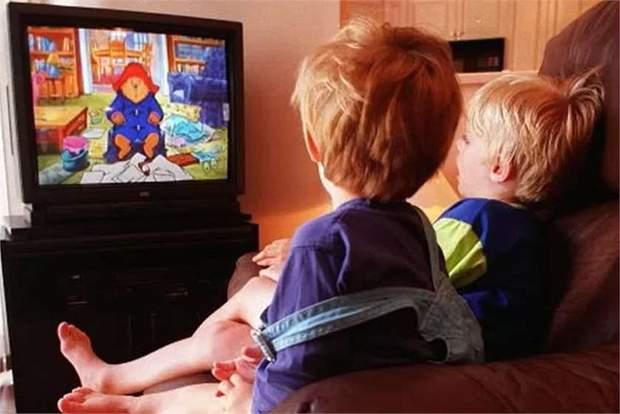 Діти та мультфільми
