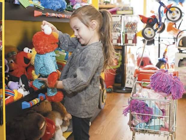 Діти в магазині