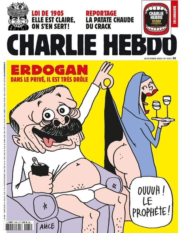 карикатура на Едогана