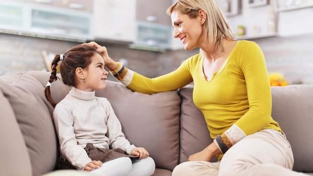 Разговаривать с детьми спокойно
