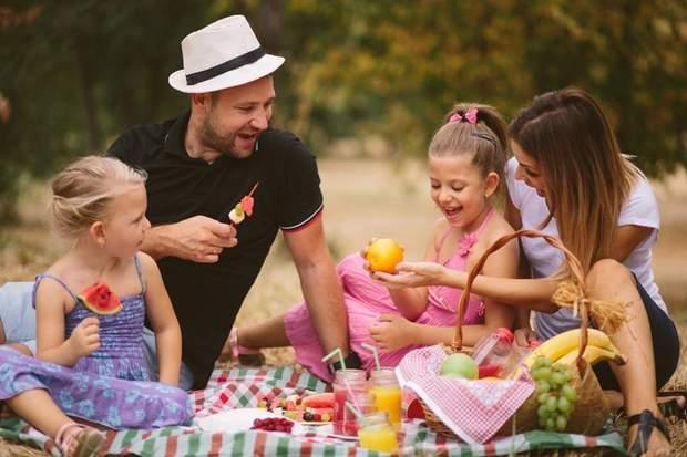 Пікнік з дітьми