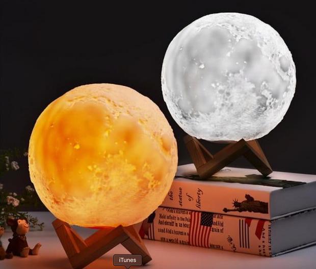 Лунная лампа