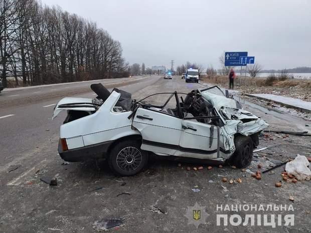 ДТП під Києвом, загинули 2 людей