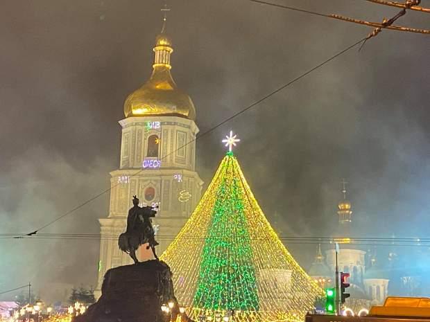 Київ, головна ялинка країни