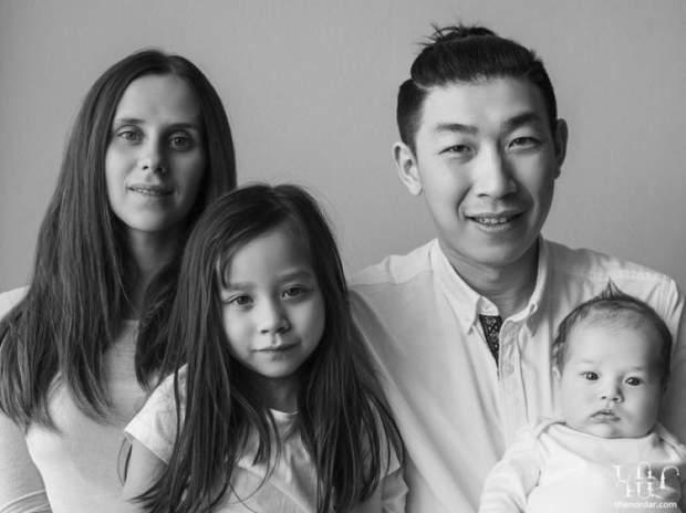 У мамы и папы разные родные языки