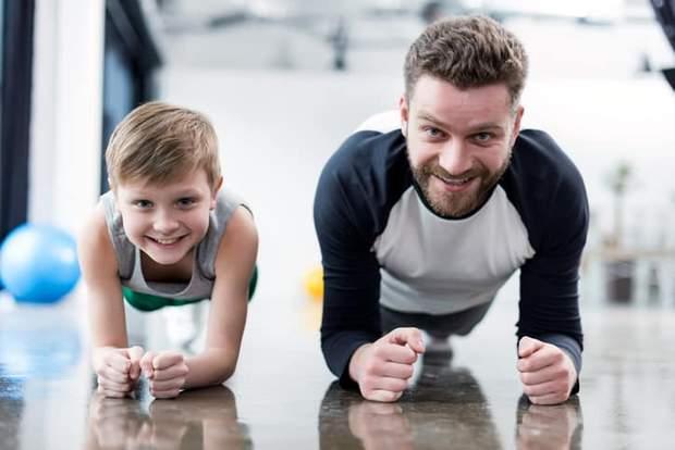 Тренування з дитиною