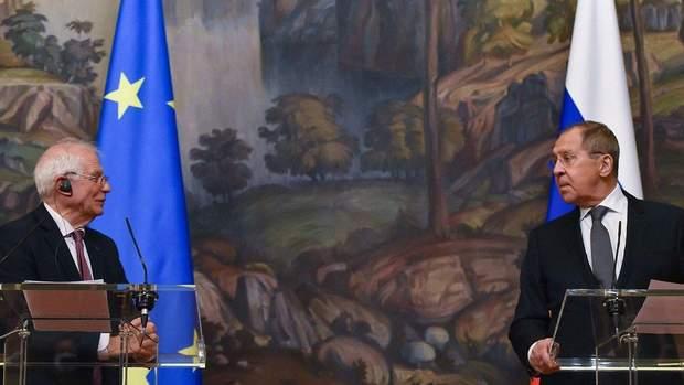 Показова порка Борреля в Росії, або Холодний прийом візитера з Європи