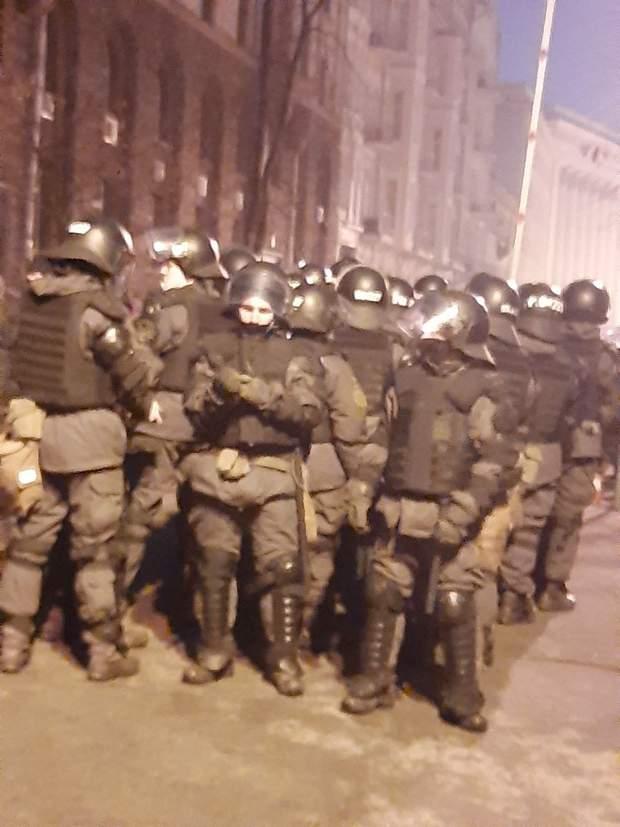 протести в Києві, силовики