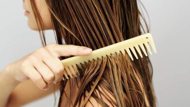 Мокре волосся
