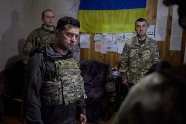 Володимир Зеленський з військовими