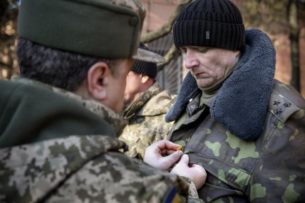 Сергій Шаптала, Герой України