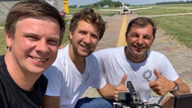 З Комаровим льотчик Табанюк встанови рекорд