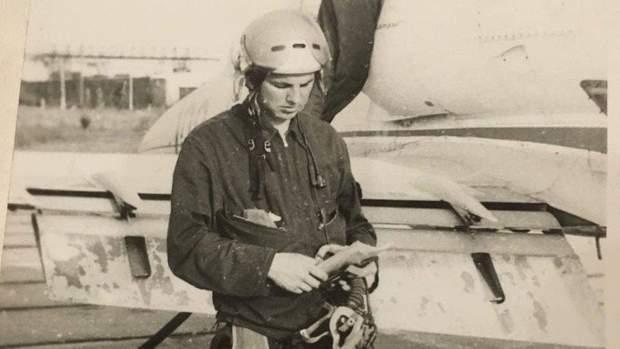 Табанюк вирішив стати льотчиком як батько